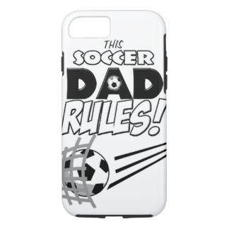 """カスタマイズ可能な""""サッカーパパ""""のiPhone 7の場合 iPhone 8/7ケース"""