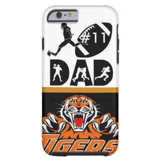 """カスタマイズ可能な""""トラフットボールパパ""""のIPHONE6ケース iPhone 6 タフケース"""