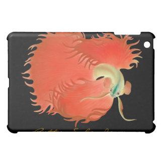 カスタマイズ可能なBetta赤いSplendensの戦いの魚 iPad Miniケース