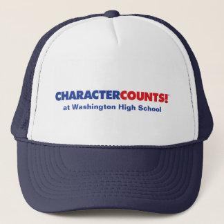 カスタマイズ可能なCHCARACTERの計算! 帽子