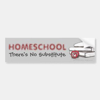 カスタマイズ可能なHomeschooling  のバンパーステッカー  バンパーステッカー