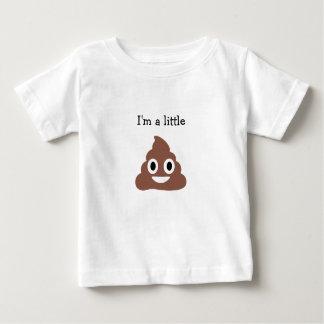 カスタマイズ可能なPoo Emoji ベビーTシャツ