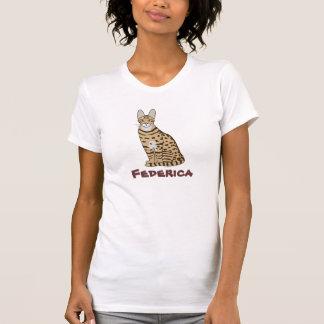 カスタマイズ可能なSerengeti猫の品種 Tシャツ