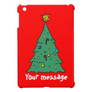 カスタマイズ可能、クリスマスツリー iPad MINIケース