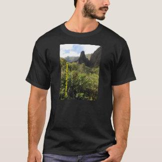 カスタマイズ基本的な暗いTシャツのテンプレート- Tシャツ