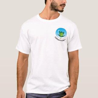 カスタマイズ基本的なTシャツのテンプレート- Tシャツ