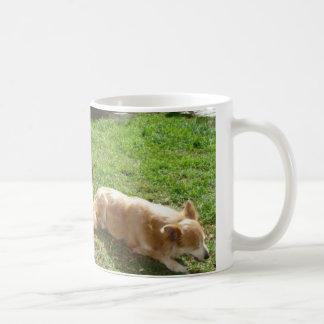 カスタマイズ夏すみれ色のアリ- コーヒーマグカップ
