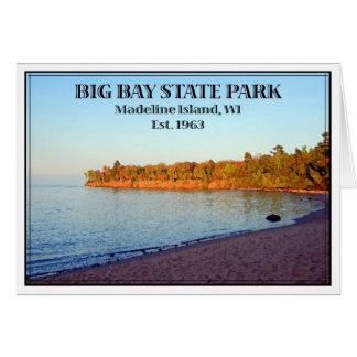 カスタマイズ大きい湾の州立公園- カード