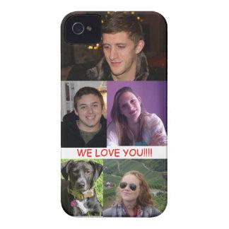 カスタマイズ家族のiphone 4ケース- Case-Mate iPhone 4 ケース