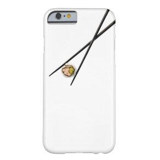 カスタマイズ寿司および黒い箸- BARELY THERE iPhone 6 ケース