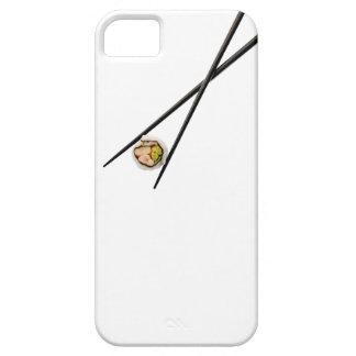 カスタマイズ寿司および黒い箸- iPhone SE/5/5s ケース