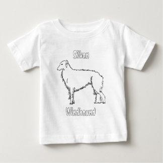 カスタマイズ幼児Tシャツの縦のテンプレート- ベビーTシャツ