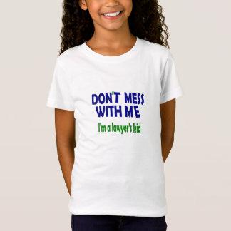 カスタマイズ弁護士の子供- Tシャツ