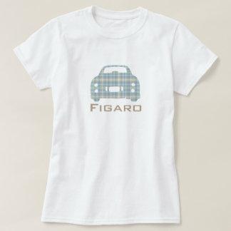 カスタマイズ日産・フィガロ車のMcFigのシルエット Tシャツ