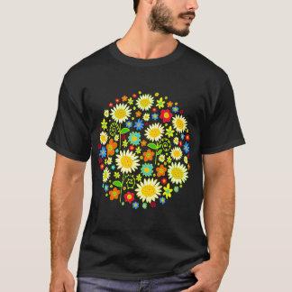 カスタマイズ春の花- Tシャツ