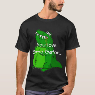 カスタマイズ相撲のわにTシャツ- Tシャツ