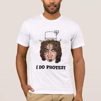 カスタマイズ落書き抗議- Tシャツ