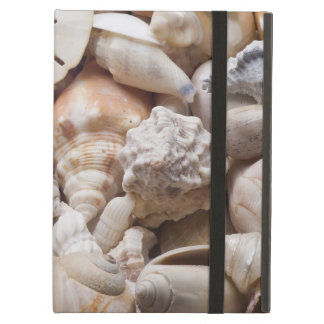 カスタマイズ貝殻の背景- iPad AIRケース