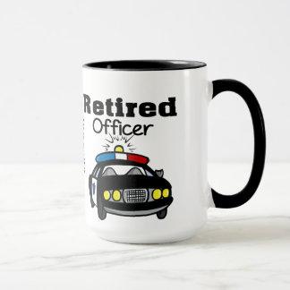 カスタマイズ退職したな警官のマグ マグカップ