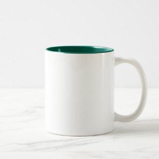 カスタマイズ《植物》百日草のleftieのマグ- ツートーンマグカップ