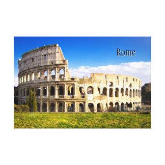 カスタマイズColosseumのローマの円形劇場 キャンバスプリント