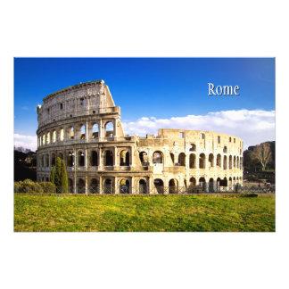 カスタマイズColosseumのローマの円形劇場 フォトプリント