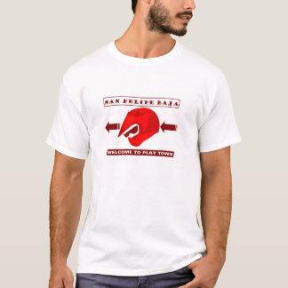 カスタマイズSAN FELIPE ATVのヘルメット- Tシャツ