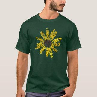 カスタマイズSusansの黒目のワイシャツ- Tシャツ