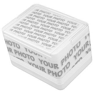 カスタムあなたの文字、イメージ及び背景色 クールボックス