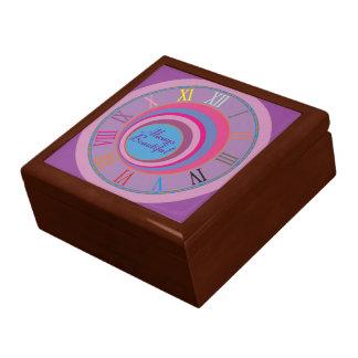 カスタムでガーリーでかわいらしい渦巻はトルネードかわいい芸術を一周します ギフトボックス