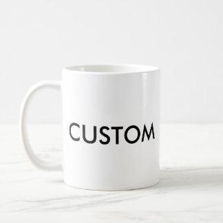 カスタムでクラシックな標準11ozの白のマグ コーヒーマグカップ