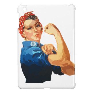 カスタムでクラシックなRosieリベッター iPad Miniケース