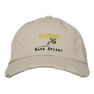 カスタムで動揺してな野球帽 刺繍入りキャップ