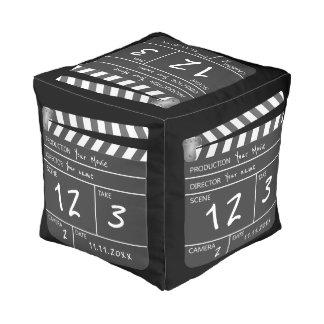 カスタムで名前入りでユニークな映画Clapperboard プーフ