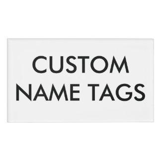 カスタムで名前入りで大きい名札のブランクのテンプレート 名札