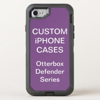 カスタムで名前入りなオッターボックスのiPhone 8/7の場合のブランク オッターボックスディフェンダーiPhone 8/7 ケース