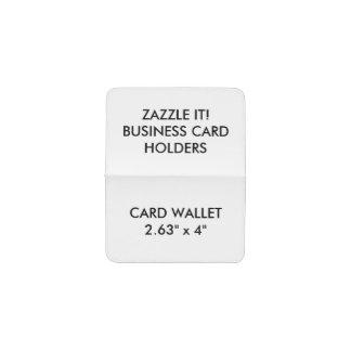 カスタムで名前入りなカード、IDの財布のブランクのテンプレート 名刺入れ