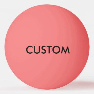 カスタムで名前入りなピンポン球のブランクのテンプレート 卓球ボール