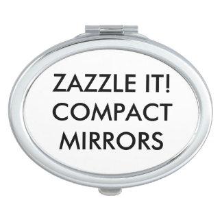 カスタムで名前入りな密集した鏡のブランクのテンプレート