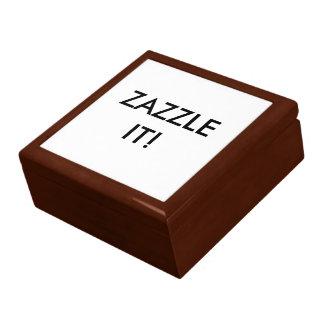 カスタムで名前入りな木のギフト用の箱のブランクのテンプレート ギフトボックス