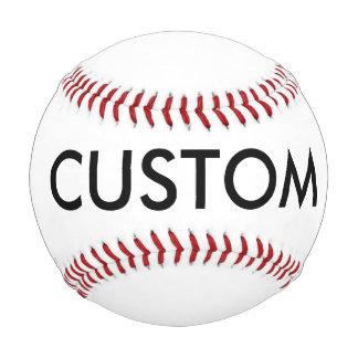 カスタムで名前入りな野球のブランクのテンプレート 野球ボール