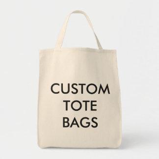 カスタムで名前入りな食料雑貨のトートのブランクのテンプレート トートバッグ