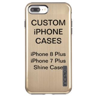 カスタムで名前入りなiPhone 8/7のプラスの輝やきの場合 Incipio DualPro Shine iPhone 8 Plus/7 Plusケース