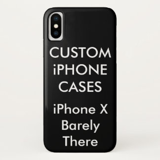 カスタムで名前入りなiPhone Xのやっとそこに場合 iPhone X ケース