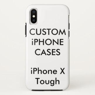 カスタムで名前入りなiPhone Xの堅く堅い薬莢 iPhone X ケース