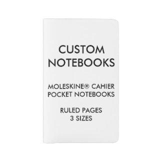 カスタムで名前入りなMOLESKINE®のノートのブランク ラージMoleskineノートブック