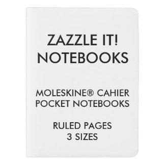 カスタムで名前入りなXL MOLESKINE®のノートのブランク エクストララージMoleskineノートブック