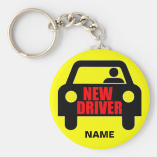 カスタムで新しい運転者の安全 キーホルダー