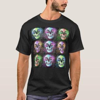 カスタムで無情な積み重ねのワイシャツ Tシャツ