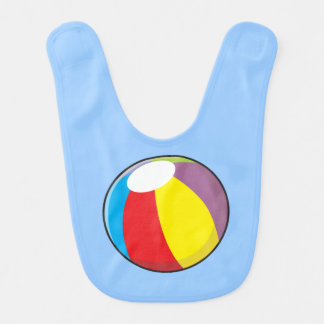 カスタムで膨脹可能なプラスチックビーチボールはワイシャツをからかいます ベビービブ